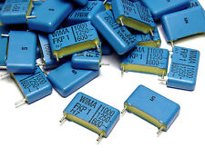 50x Wima FKP1 PP Folien-Kondensatoren, 1000 pF / 1 nF, 1250 Volt, RM 15mm, NOS