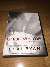 Lexi Ryan ~ Unbreak Me ~  MP3 CD Unabridged Audio ~ Romance UAB UNAB