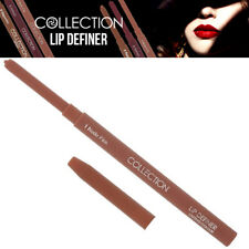 Collection Twist Up Lip Definer Long Lasting Lipstick Colour Makeup Nude Pink