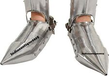 Armor-Shoes-Steel-Gothic-Wearable-Replica-Armor Costume