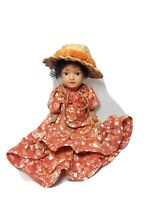 "Antique Schoenau Hoffmeister German Doll  8"" Tall"