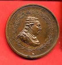 (M.34) MÉDAILLE DU PRESIDENT DU PARLEMENT DE PROVENCE (1788) TRÈS RARE
