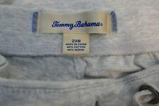 TOMMY BAHAMA SLEEPWEAR SHIRT & PANTS SIZE 2XB LIGHT GREY  40% MODAL 60% COTTON