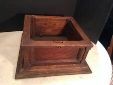 Antique Horn Phonograph Oak Wood Case Project