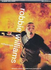 Millennium - Robbie Williams  - 1998 Sheet Music