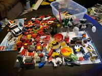 Huge Lego And Lego Bionicle Lot