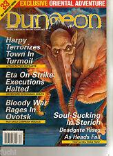 Dungeons & Dragons 3.5/3.0 Dungeon Magazine #89 Oriental Adventures, Rokugan