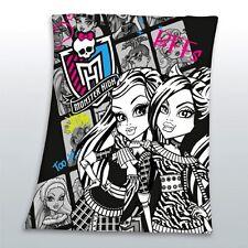 Monster High BFFs Fleecedecke Decke Kuscheldecke 125/150 p. zur Bettwäsche Neu