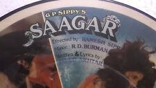 "SAAGAR JALPARI R.D.BURMAN 7"" EP RECORD PICTURE DISC INSTRUMENTAL BOLLYWOOD RARE"