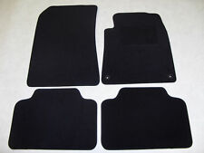 Peugeot 508 2011-on Fully Tailored Deluxe Car Mats in Black