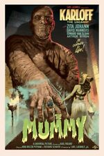 The Mummy (Regular Edition) Screen Print Stan & Vince Sold Out Mondo Universal