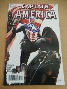 Captain America #34 1st Bucky as Captain America Steve Epting Cover Falcon