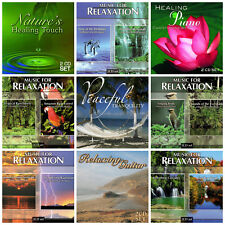 18 RELAXATION CD LOT music&nature sounds,rain forest,dolphins,birds,piano,guitar