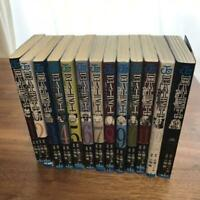 USED Death Note Vol.1-13 Set Japanese Manga (no covered binding parts)