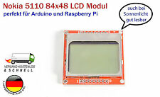 84x48 Pixel LCD Display Modul ähnlich Nokia 5110 für Arduino Raspberry Pi