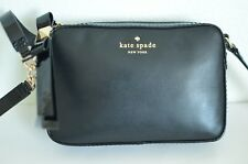 Kate Spade MANSFIELD MARIANA Black Crossbody  Shoulder Bag Purse