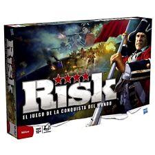 Risk El Juego De La Conquista Del Mundo Juego De Mesa Original Hasbro Español