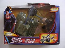 NEW Man of Steel Tank Buster Battle Pack Action Figures Quick Shots 4+