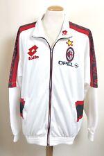 VINTAGE AC MILAN 1996 LOTTO TRACKSUIT JACKET ITALY MAGLIA SHIRT XL OPEL