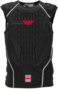 Fly Racing Barricade Protective Pullover Vest Black | Red Large | 360-9702