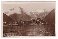 c1930 RPPC NORGE NORWAY BALTHOLM FJORD HOTEL ? VINTAGE PHOTO POSTCARD MITTET OLD