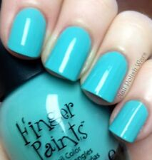 NEW FingerPaints Nail Color TIFFANY IMPOSTER - Finger Paints polish BLUE