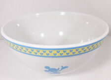 Disney Silhouette Mickey Mouse Ceramic Stoneware Circa 2003 Medium Mixing Bowl