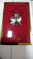 Lenox Ornament Our Home To Yours 2002 Silver plated Christmas Ornament