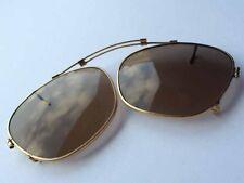 Alte Brille, dunkle Gläser, verstellbar, um 1900