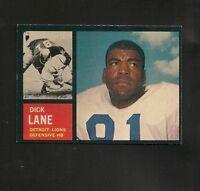 4455* 1962 Topps # 60 Dick Lane NM
