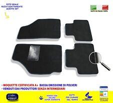 Per Fiat Punto 99u003e2011 188 Tappetini Tappeti Per Auto Set Moquette Nero  Ricami