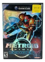 Metroid Prime 2: Echoes GameCube 2004 CIB Complete With Manual