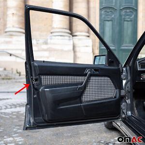 Weatherstrip Car Door Rubber Seal Strip Black For Mercedes Benz W201 1982-1993