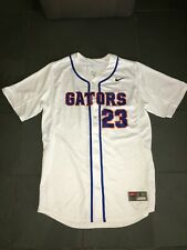 RARE NEW FLORIDA GATORS #23 Baseball Jersey sz LG