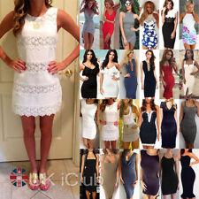 Unbranded Cotton Blend Regular Size Dresses Midi