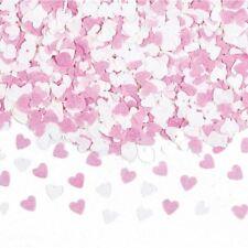 Pink & White Mini Papel Confeti Corazón Día de San Valentín Boda Fiesta Mesa chispas