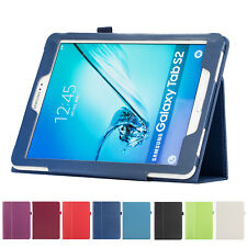 """For Samsung Galaxy Tab A 8.0"""" 9.7"""" 10.1'' S2 T715/T815 Leather Stand Cover Case"""