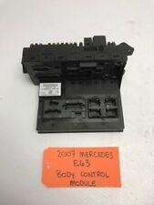 07 08 09 MERCEDES E63 W211 6.2L V8 AMG BCM SAM FUSE BOX 2115457501