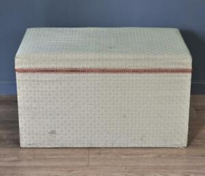 Attractive Large Antique Victorian Pine Kist Chest Storage Trunk Blanket Toy Box
