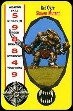 Rat Ogre, Skaven Mutant  - Monsters - Citadel Combat Cards (C253)