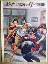 La Domenica del Corriere 16 Agosto 1959 Nixon Kruscev Ike Calcio Cancro Llanten