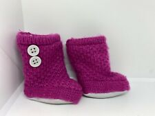 American Girl 2011 Cozy Sweater Outfit Scrunchy Knit Boots Shoes Authentic