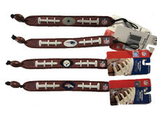 GAMEWEAR NFL Team Logo Football Bracelet Made From Genuine Football Leather