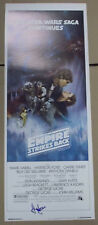 Empire Strikes Back STAR WARS ORIGINAL INSERT MOVIE POSTER Signed Harrison Ford