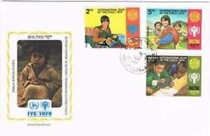 Envelop Jaar van het Kind 1979 - Bhutan (207)