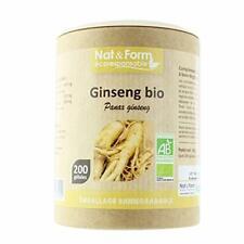 Natform Ginseng Bio 200 Gelules