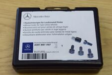 NEW Genuine Mercedes Gl Ml R S Class Verrouillage Roue Ecrou Boulon Clé Set A0019901707