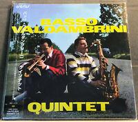 BASSO VALDAMBRINI QUINTET - Japan Mini-LP CD - CMD-33204 - OBI - MINT!