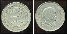 JORDANIE  100 fils ( 1 dirham )  1989-1409