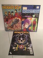 Robotech & Remix comics and Tpb from Titan Comics 2017 series / New